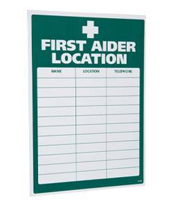 First-aider-location