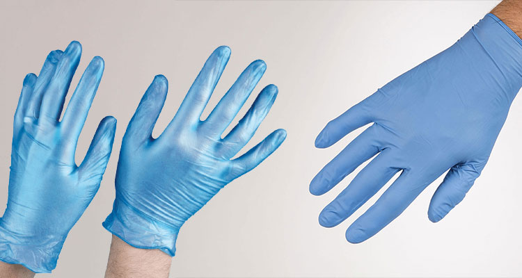 Vinyl and Nitrile Gloves