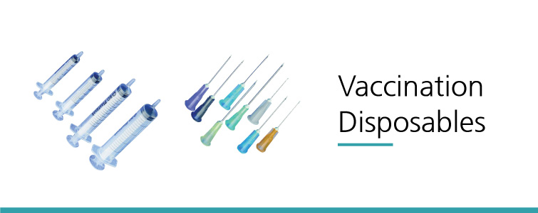 Vaccination disposables