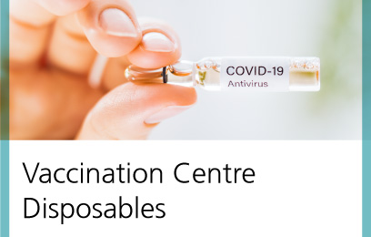 Vaccination centre disposables