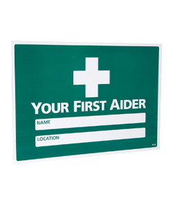 Your-first-aider-sign