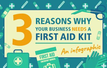 3 Reasons Why Your Business Needs a First Aid Kit