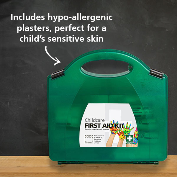 Childcare first aid kit