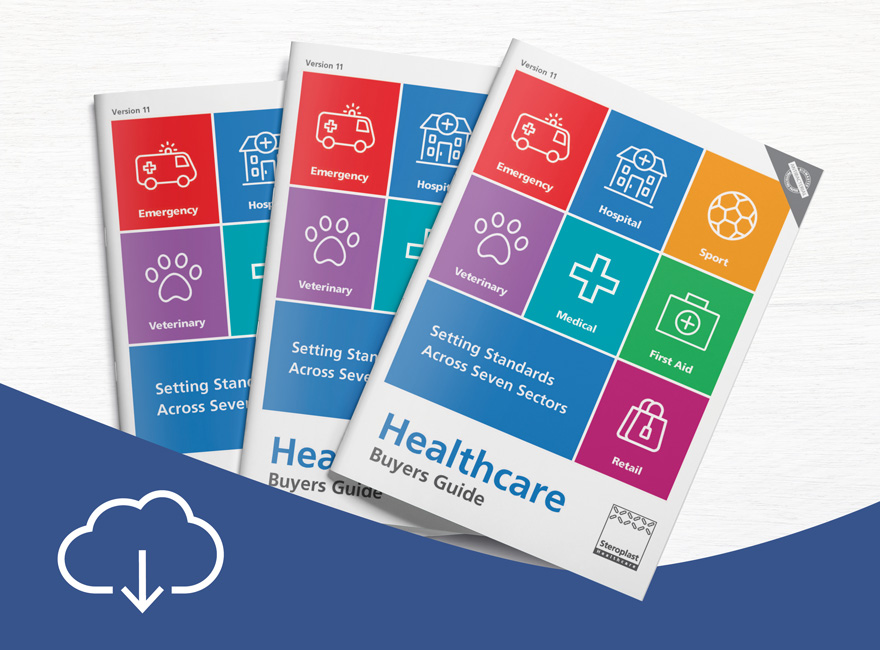 Download Steroplast Healthcare Buyers Guide