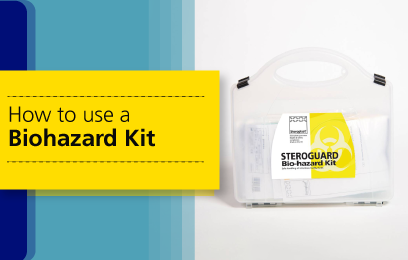 How to Use a Biohazard Kit?
