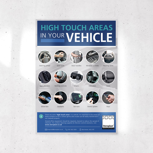 Vehicle high touch points