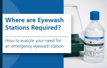 Where are Eyewash Stations Required?