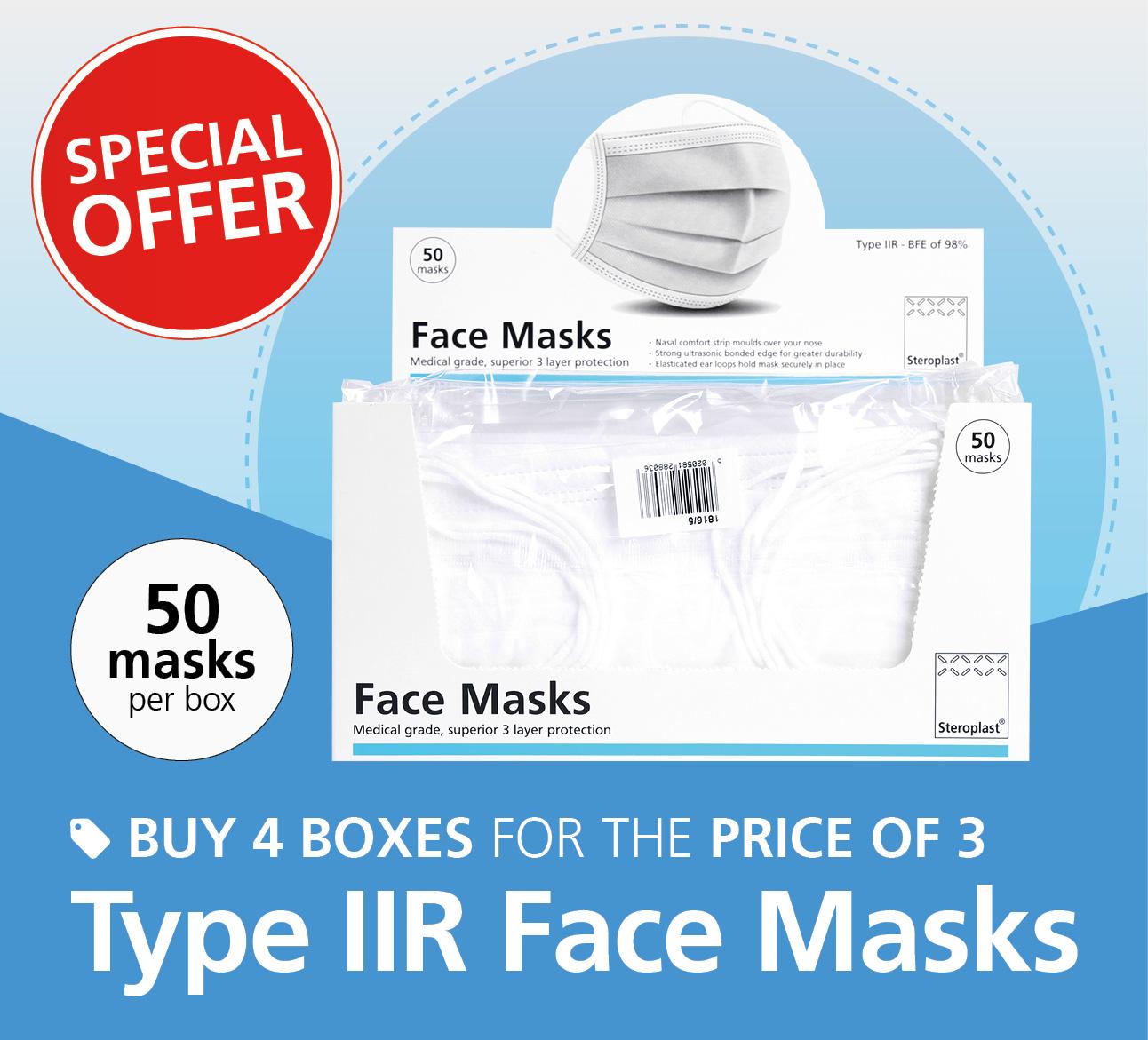 Face masks promotion