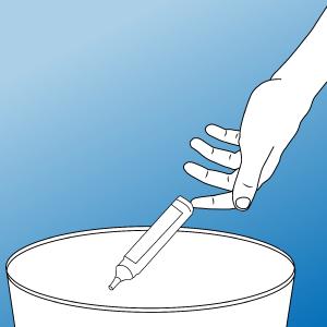 How to use Sterowash & wound wash: Step 5